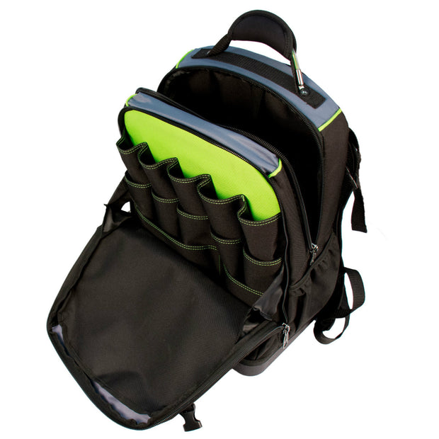 Greenlee 0158-27 Professional Tool and Tech Backpack