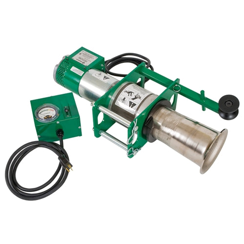 Greenlee 08000 Power Unit with Force Gauge for Ultra Tugger 8 Cable Puller