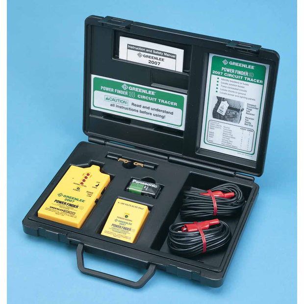 Greenlee 2007 Power Finder Closed Circuit Tracer