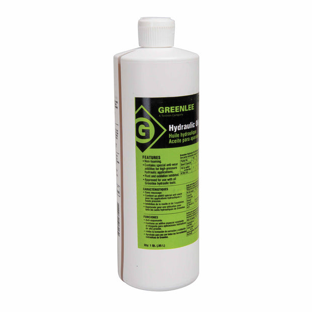 Greenlee 4017GB Hydraulic Oil - 1 Quart