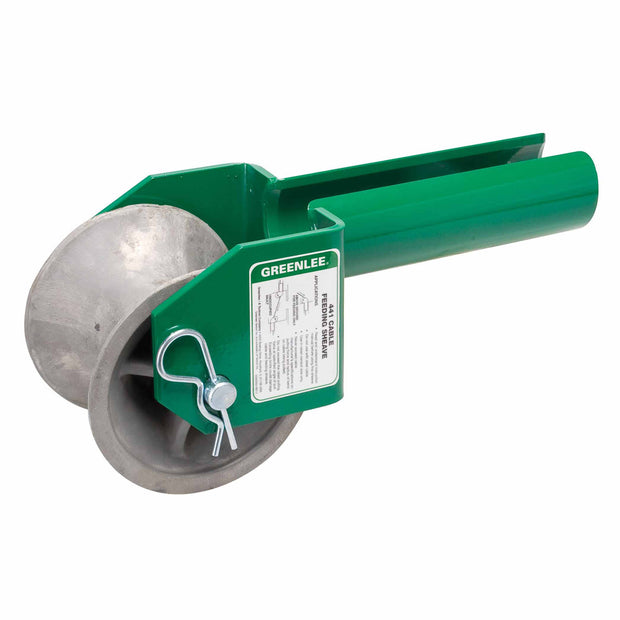 "Greenlee 441-3 Feeding Sheave for 3"" Conduit"