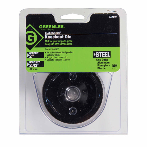 "Greenlee 124AVP 3/4"" Conduit-Size Replacement Die"