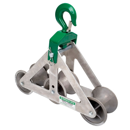 Greenlee 6036 Triple Sheave Cable Guide for Easy Tugger, Tugger and Super Tugger