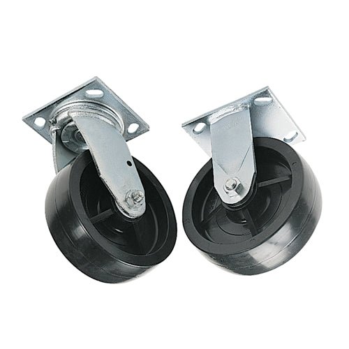 "Greenlee 603 6"" Caster Set - 2 Swivel and 2 Fixed for 668 Pipe Rack"