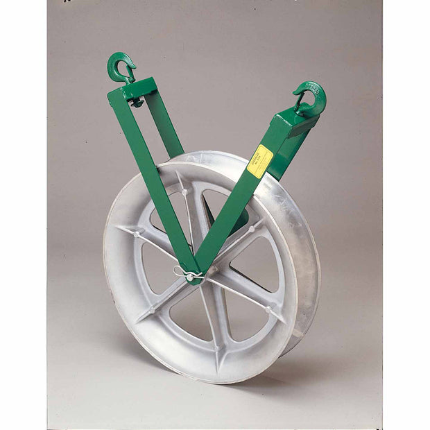 Greenlee 639 Right Angle Twin Yoke Sheave for Easy Tugger and Tugger