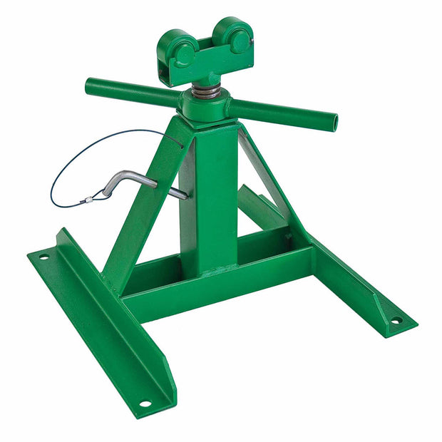 "Greenlee 687 Screw-Type Reel Stand 13"" - 28"" (1 Stand Only)"