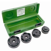 "Greenlee 7304 2-1/2"" - 4"" Conduit Size Standard Round Knockout Punch Kit"
