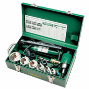 "Greenlee 7506 1/2"" - 2"" Conduit Size Slug-Splitter Knockout Punch Kit with Hydraulic Ram and Hand Pump"