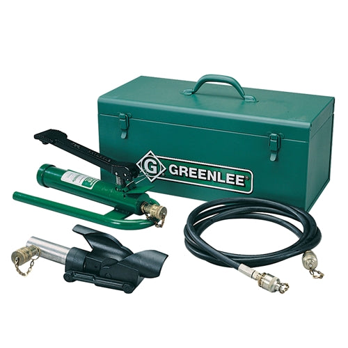 Greenlee 800F1725 Hydraulic Cable Bender with Foot Pump, Hose Unit and Storage Box