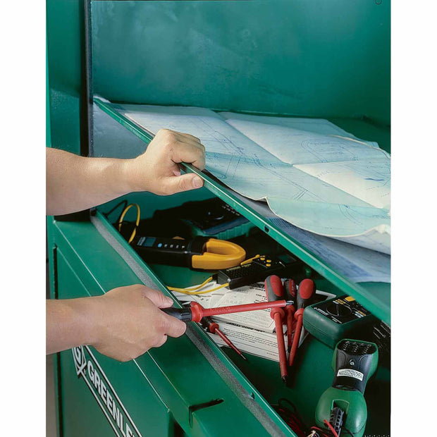 "Greenlee 8060DLX 80"" X 60"" Field Office Storage Box"