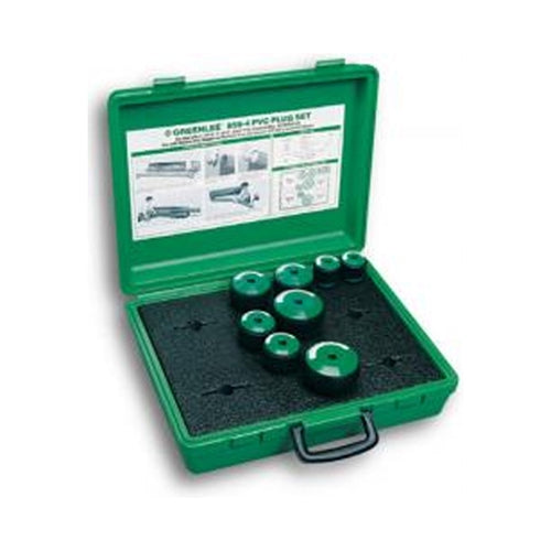 "Greenlee 859-4 2"" - 4"" PVC Plug Set"