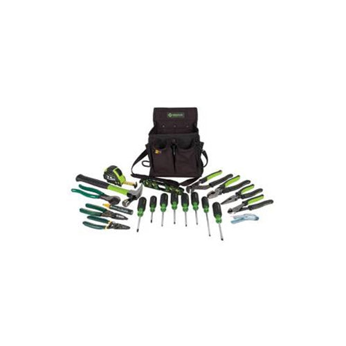 Greenlee 0159-23 Jouneyman's Metric Tool Kit 21 piece