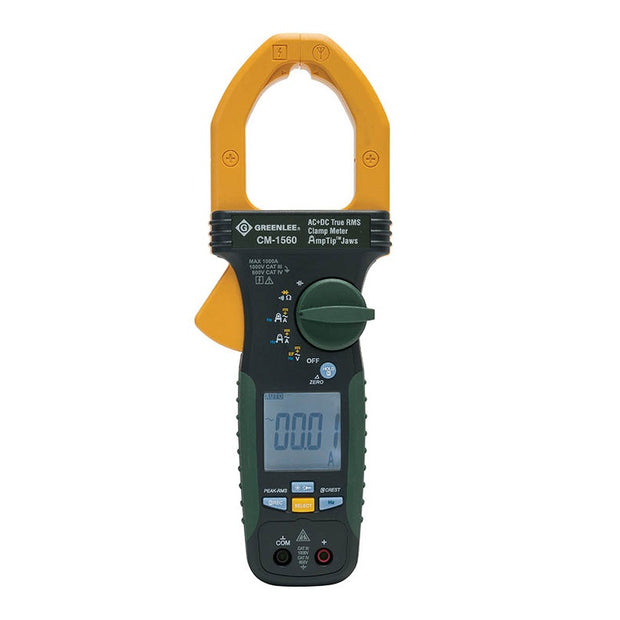 Greenlee CM-1560 1000A AC/DC True RMS Clamp Meter