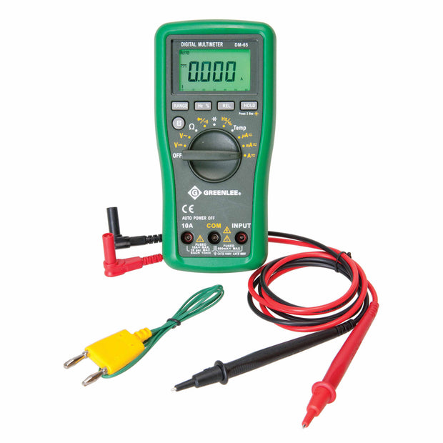 Greenlee DM-65 Auto Ranging Multimeter