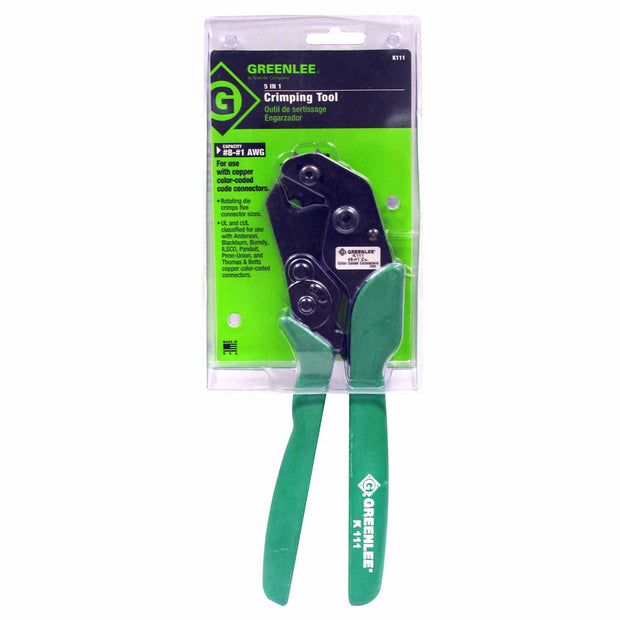 Greenlee K111 Crimping Tool 8-1 AWG