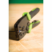 Greenlee K210 Premium Crimping Tool with 3 Die Sets