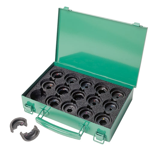Greenlee K22S1GL 6-Ton Crimping Die Kit #8 - 600 Copper Connectors
