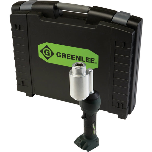 Greenlee LS100XB INTELLIPUNCH 11-Ton Tool with Case