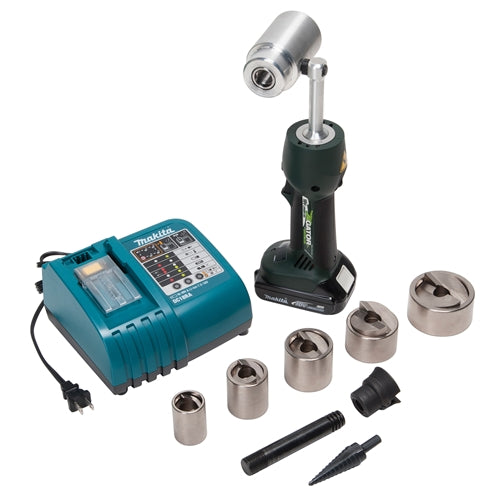 "Greenlee LS50L11SP SPEED PUNCH 3/4"" - 2"" Kit with LS50 Battery-powered Driver"