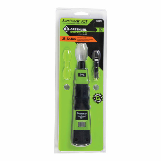 Greenlee PA3571 SurePunch PDT with 110/66 Blade