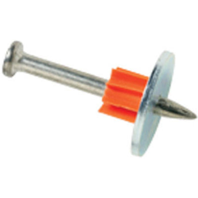 "Ramset 1506SD ramset 3/4"" Washered Pin, 100 Pins"