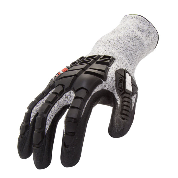 212 Performance AXIMPC3-06-010 AX360 Impact Cut 3 Gray Large Gloves