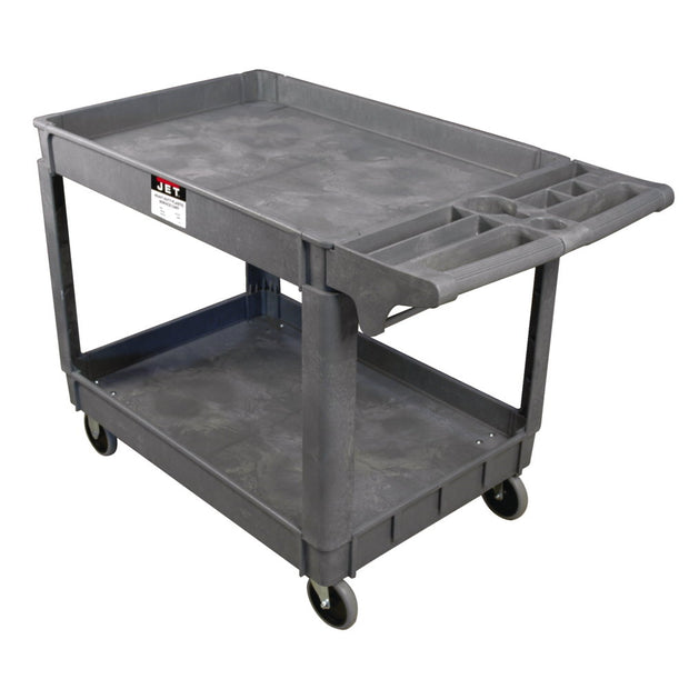 "Jet 140019 PUC-3725, Resin Utility Cart, 37-3/8"" x 25-5/8"" Tray"