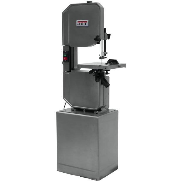 "Jet 414502 J-8201VS, 14"" Metal/Wood Vertical Variable Speed Bandsaw"