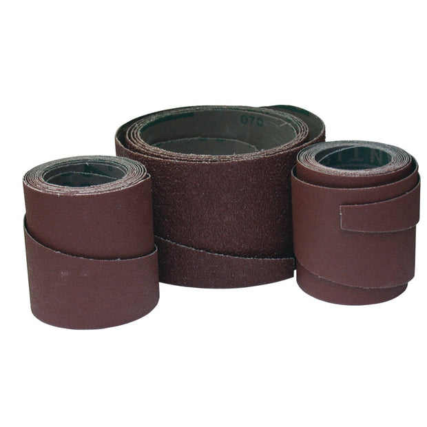 "Jet 60-18120 Ready-To-Wrap 18"" 120G Sandpaper (4 wraps in a pack)"