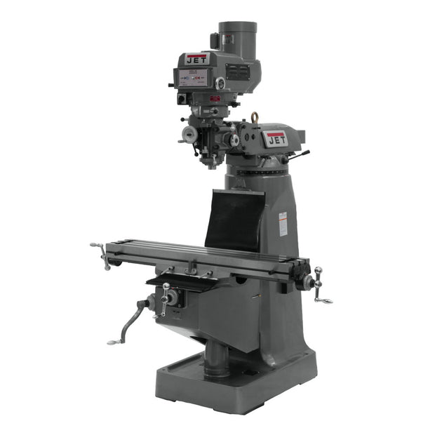 Jet 690180 JTM-4VS-1 Variable Speed Vertical Milling Machine 115/230V 1PH