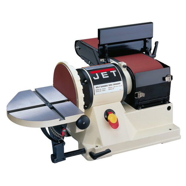 "Jet 708595 JSG-96: Benchtop 6"" x 48"" Belt / 9"" Disc Sander, 3/4HP 1Ph, 115V"