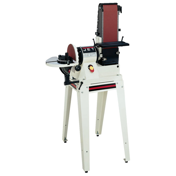 "Jet 708596K JSG-96OS: 6""x48"" Belt / 9"" Disc Sander W Open Stand, 3/4HP 1Ph, 115V"