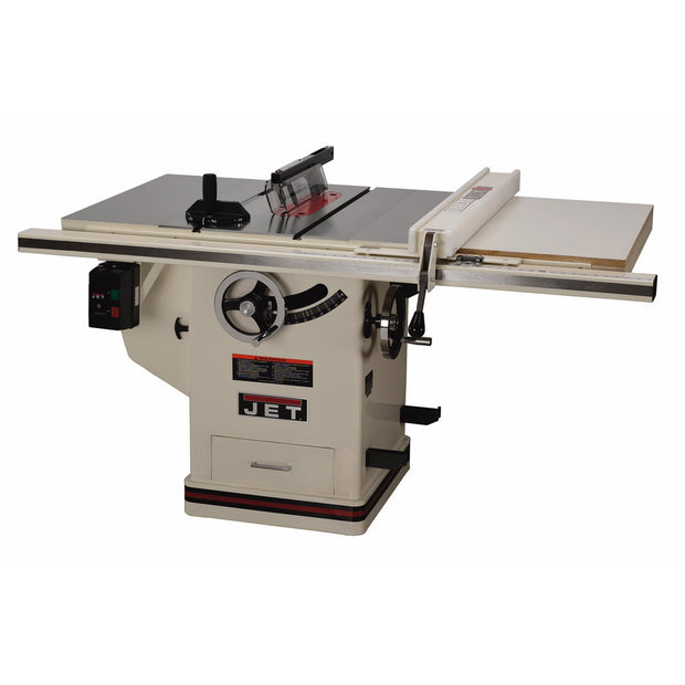 "Jet 708674PK DELUXE XACTA® SAW 3HP, 1Ph, 30"" Rip"