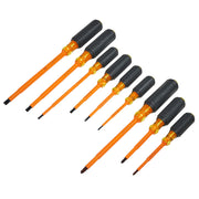 Klein 33528 Cushion-Grip Insulated Screwdriver Kit