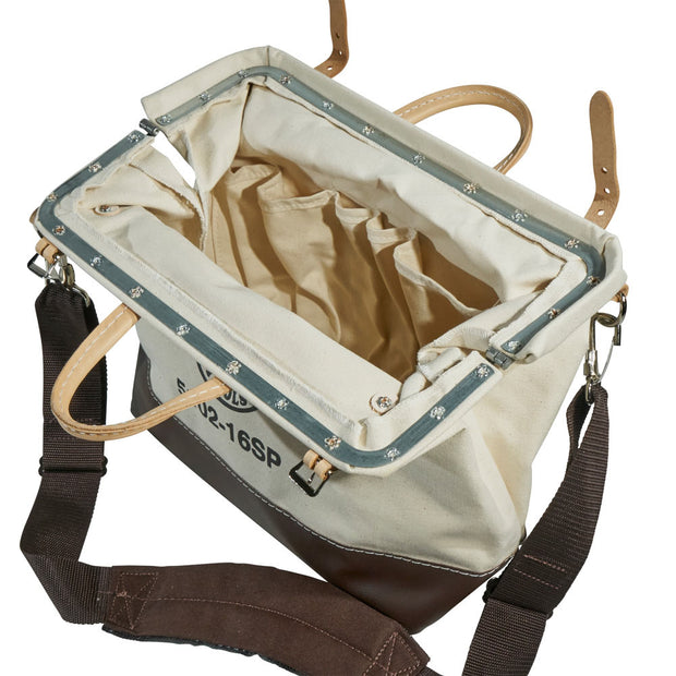 "Klein 5102-18SP 18"" Deluxe Canvas Tool Bag"