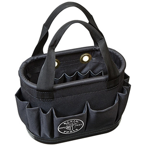 Klein 5144BHB14OS Tool Tote - 29 Pockets and Handle