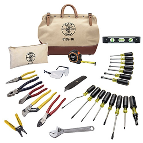 Klein 80028 28 Piece Electrician's Tool Set