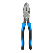 Klein J2000-9NECRTP Journeyman, 2000 Series Side-Cutting Pliers w/ Crimper & Fish-Tape Puller