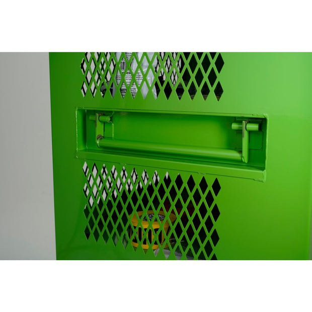 "Knaack 139-SK Safety Kage &  PPE Storage Cabinet, 30"" x 60"" x 30"", Safety Green"