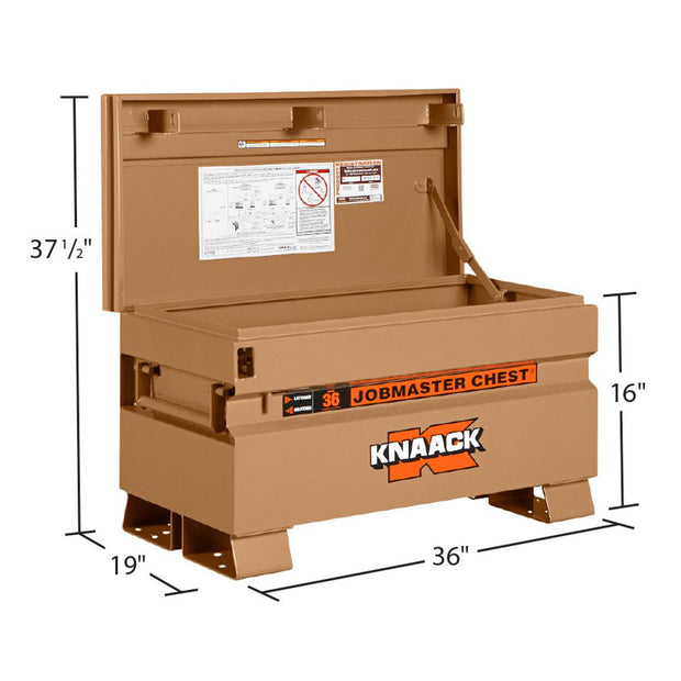 "Knaack 36 Jobsite Storage Box 36""x19""x16"" JOBMASTER Chest"