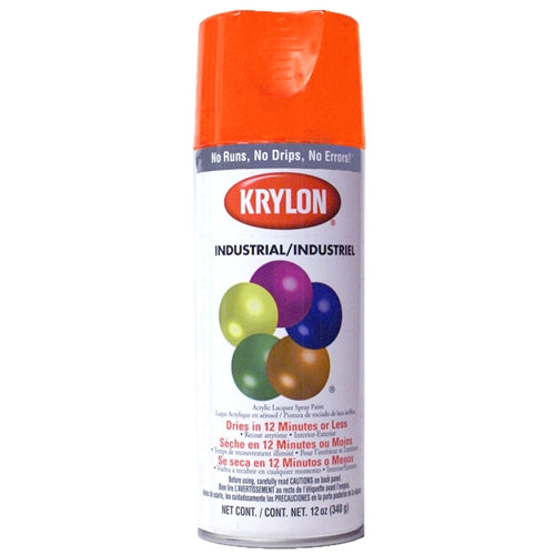 Krylon 2410 Safety orange spray paint