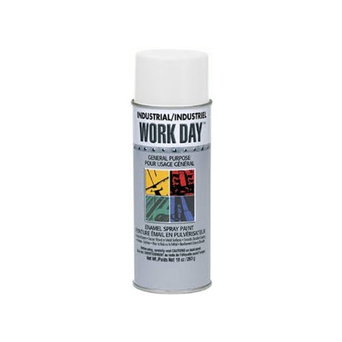 Krylon 4422 Work Day Enamel Paint Flat White