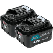 Makita BL1041B-2 12V Max CXT Li-Ion 4.0 Ah Battery, 2 Pack