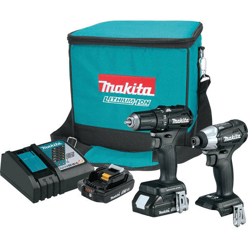 Makita CX200RB 18V LXT Sub-Compact Brushless Drill / Impact Driver Kit
