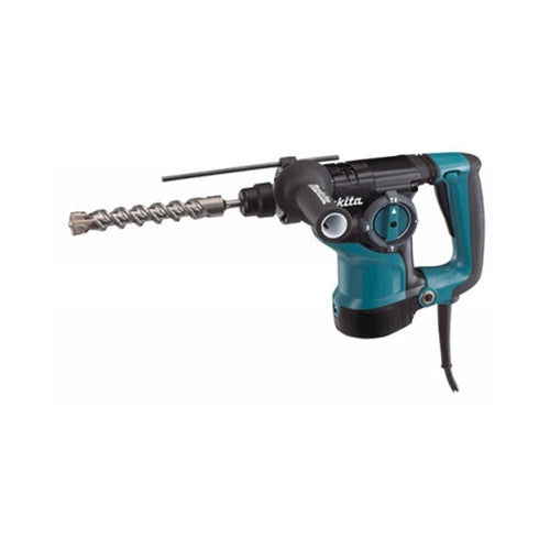 "Makita HR2811F 1-1/8"" Rotary Hammer with L.E.D. Light"