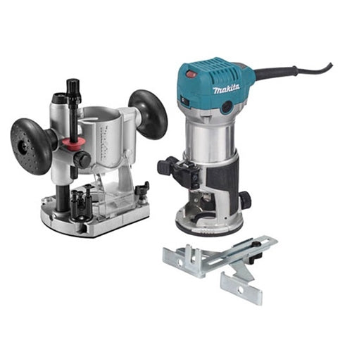 Makita RT0701CX7 1-1/4 HP Compact Router Kit with Plunge Base
