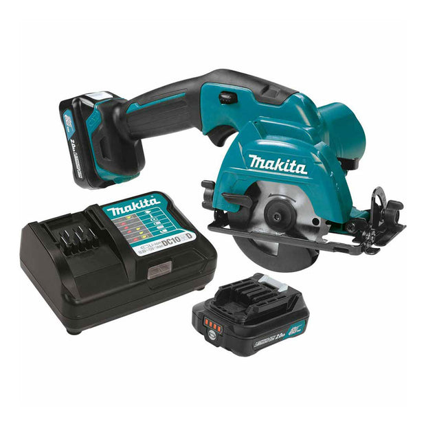 "Makita SH02R1 12V Max CXT Li-Ion 3-3/8"" Cordless Circular Saw Kit"