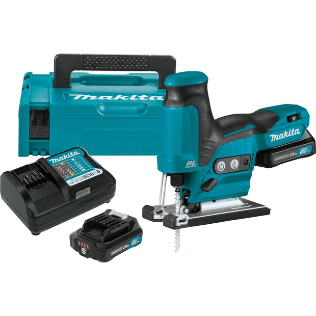 Makita VJ05R1J 12V Max CXT Li-Ion Brushless Barrel Grip Jig Saw Kit