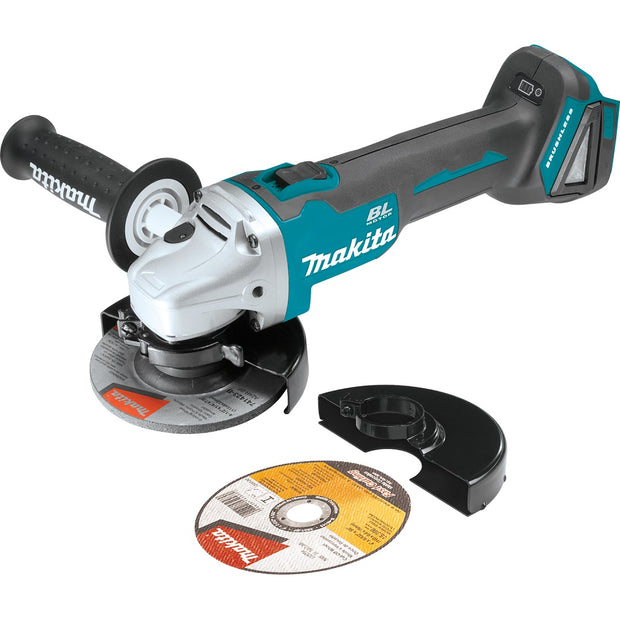 "Makita XAG04Z 18V LXT Li-Ion Brushless 4-1/2"" / 5"" Angle Grinder (Tool Only)"