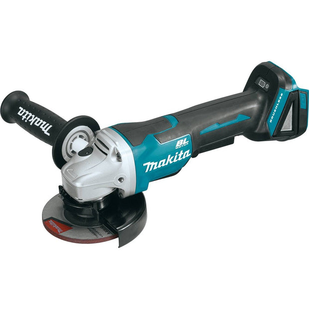 "Makita XAG06Z 18V LXT Li-Ion Brushless 4-1/2"" Paddle Switch Grinder (Bare)"